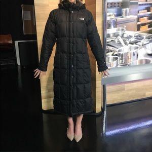 Black Northface Down Coat
